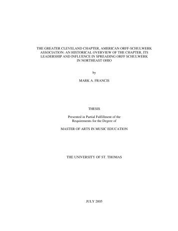 Title Page and Abstract - Clevelandorff.org