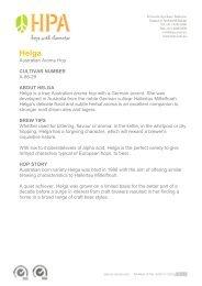 Helga - Hop Products Australia