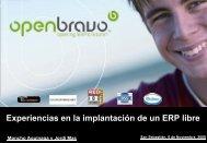 Presentació corporativa Openbravo - EHUtb