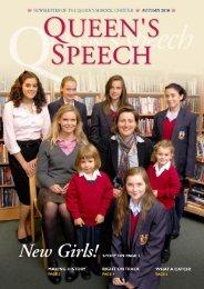 Autumn 2010 - The Queen's School