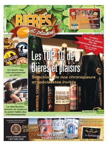 Février - Volume 4 – Numéro 1 - Bières et Plaisirs