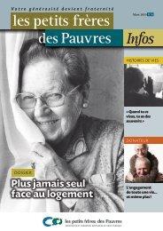 Les petits frères des Pauvres Infos n° 16 - mars 2010