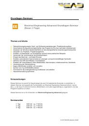 Grundlagen-Seminare Electrical Engineering Grundlagen ... - wscad