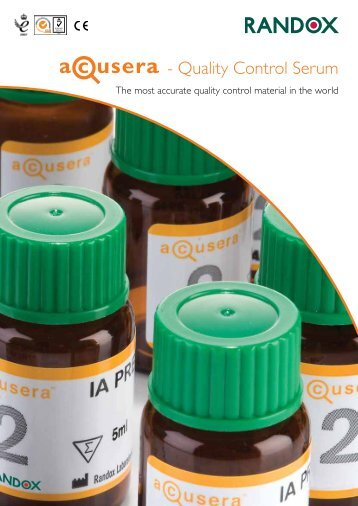 - Quality Control Serum