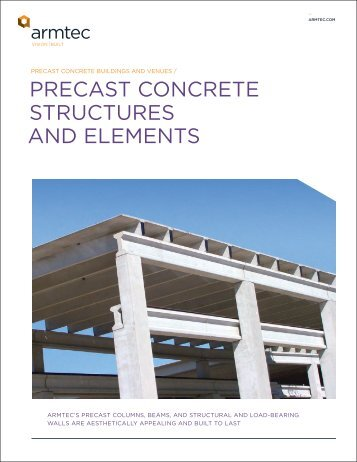 PRECAST CONCRETE STRUCTURES AND ELEMENTS - Armtec