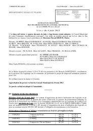 CR Conseil municipal 4 juin 2013 - Laillé