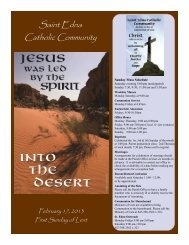 Feb 17 - St. Edna Catholic Church