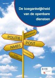 11-04-2013 : De toegankelijkheid van de openbare diensten - Crioc