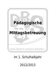 Pädagogische Mittagsbetreuung - Don-Bosco-Schule