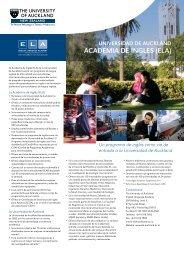 ACADEMIA DE INGLES (ELA) - The University of Auckland English ...