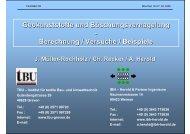 Versuchsergebnisse - IBH - Herold + Partner Ingenieure