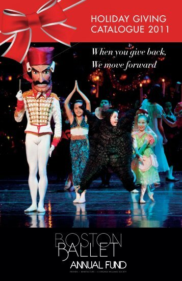 When you give back, We move forward - Boston Ballet