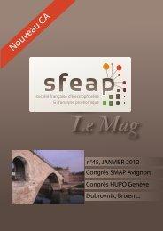 Le Mag 45 janvier 2012 - SFEAP