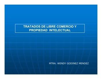 tratados de libre comercio y propiedad intelectual - Reposital