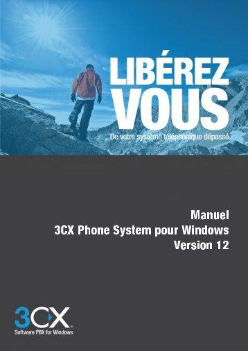 Manuel administrateur 3CX Phone System