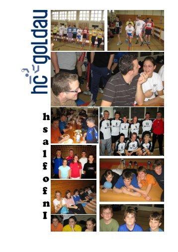 Infoflash Januar 2008 - Handballclub Goldau