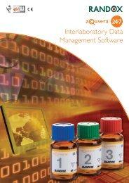Interlaboratory Data Management Software