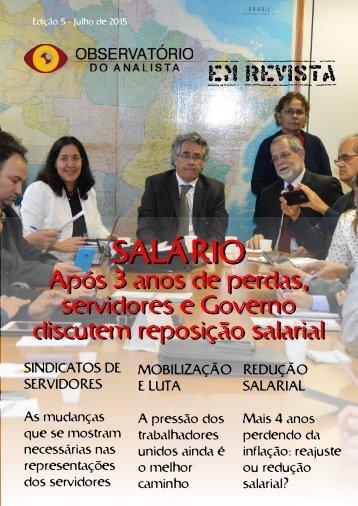 Observatorio do Analista em Revista 5 edição