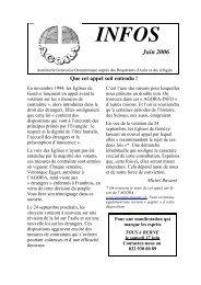 AGORA INFO Juin 2006