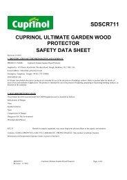 Garden Woodcare Colour Guide Cuprinol