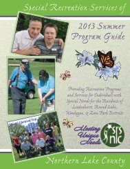 2013 SRSNLC Summer Brochure - the Round Lake Area Park District!
