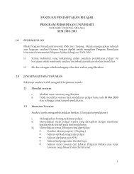 panduan pendaftaran pelajar program persediaan universiti sesi ...