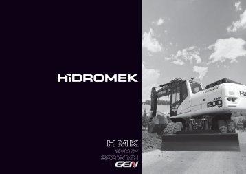 200 W Gen de la serie - Hidromek
