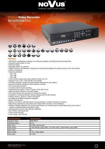 Bosch Dvr Mr manual