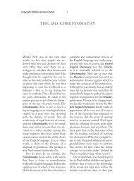 THE IBIS CHRESTOMATHY 473