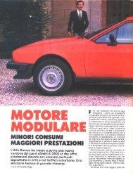MOTORE MODULARE - GTV6 et 156 GTA