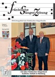 FSZ 2/2012 - Fränkischer Sängerbund