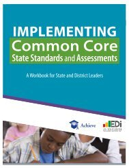 ImplementIng Common Core - State of Oklahoma Website