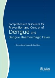 Comprehensive Guidelines for Prevention and Control of Dengue ...