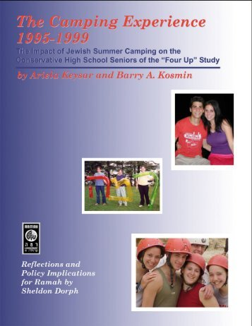 The Camping Experience 1995-1999 - Camp Ramah