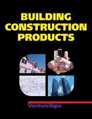BUILDING CONSTRUCTION PRODUCTS - Venture Tape