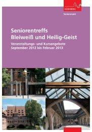 Veranstaltungs- und Kursprogramm der ... - Stadt Nürnberg