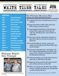 Welch's New Principal - Welch Elementary School - Indian Prairie ...