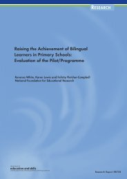 Raising the Achievement of Bilingual Learners in Primary ... - ERIC