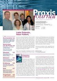 Ausgabe 3 / 2005 - Onkologische Schwerpunktpraxis Darmstadt