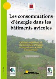 Energie aviculture ADEME - version finale 2 - Institut Technique de l ...