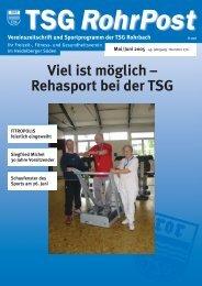 Viel ist möglich - TSG Heidelberg-Rohrbach