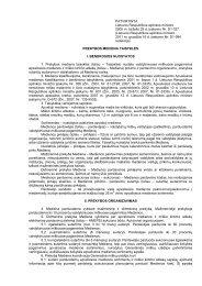 lietuvos respublikos aplinkos ministras - Generalinė miškų urėdija