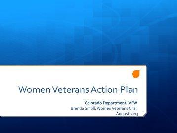 Women Veterans Action Plan - VFW