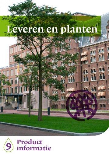Bomen leveren (pdf) - Nationale Bomenbank