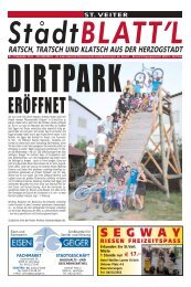 Stadtblattl Ausgabe 02 (PDF-Format, ca. 6,6 - Zentrum Kärnten in ...