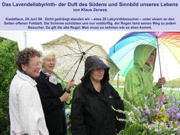 Das Lavendellabyrinth- der Duft des Südens und Sinnbild unseres ...