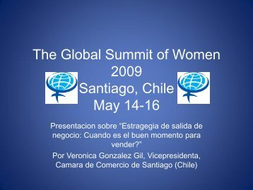 cuando vender la empresa? - GlobeWomen