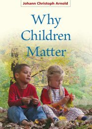 Why Children Matter - an ebook from Plough Publishing