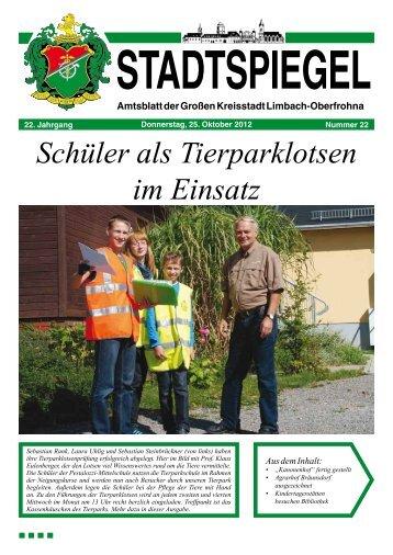 Stadtspiegel 22-12.pdf - Stadt Limbach-Oberfrohna