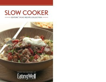 SLOW COOKER - EatingWell